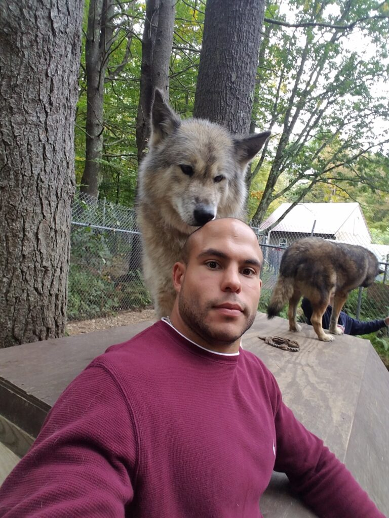 Michael LaMarque Blog Site - Running with Wolves